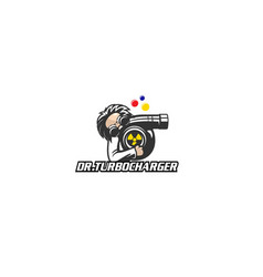 Doctor turbocharger vector