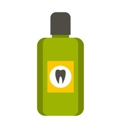 Mouthwash icon flat style vector