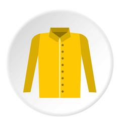 Shirt icon circle vector
