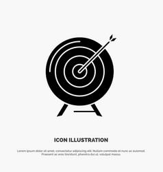 Target aim archive business goal mission success vector