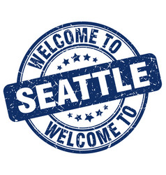 Welcome to seattle vector
