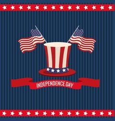 Independence day usa national celebration vector