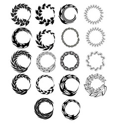 circular-elements vector image