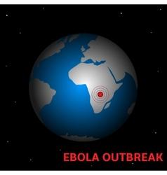 Ebola outbreak vector