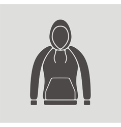 Smock icon on background vector image
