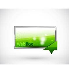 Web header vector