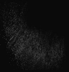 White noise granules vector