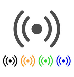 wi-fi source icon vector image