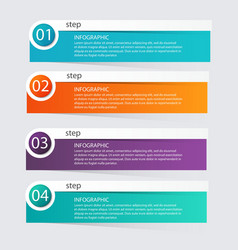 Infographic Templates for Business Infographics vector image vector image