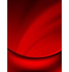 Red curtain fade to dark card EPS 10 vector image