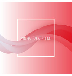 abstract background beautiful waves vector image