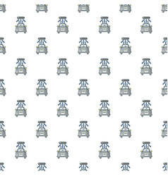 Car wash pattern seamless vector