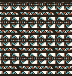 hand drawn ethnic patterns stripes blue gold vector image