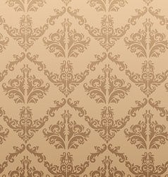Seamless Gold Vintage Background vector
