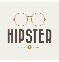 Vintage hipster badges and labels vector