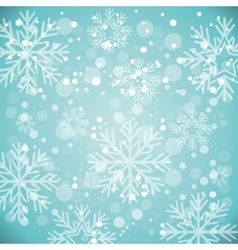 snow winter background vector image