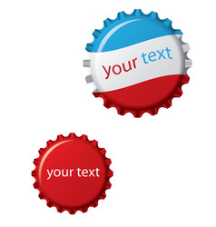 Vector bottle cap vector