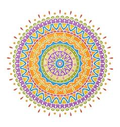 Colorful mandala vector image