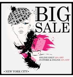 Fashion shopping design vector