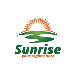Sunrise Logo vector image vector image