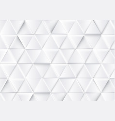 abstract luxury triangles background vector image