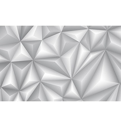 Abstract geometrical gray background vector image