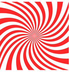 abstract swirl background from spiral ray stripes vector image
