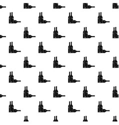 Bottles pattern vector