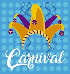 Carnival party concept vector