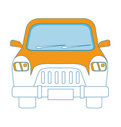 Classic car vehicle vector