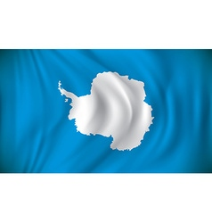 Flag of Antarctica vector image