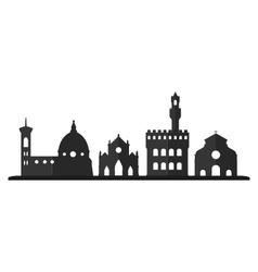 Florence skyline vector