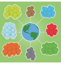 Global communities vector