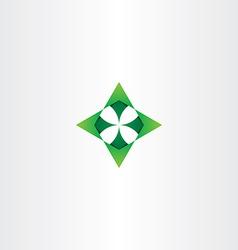 Green arrows up down left right logo icon vector