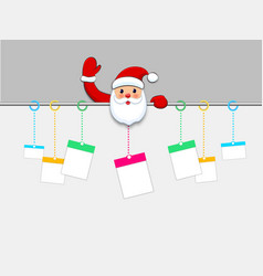 hanging christmas gift boxes present packages vector image