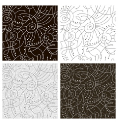 Line patterns vector