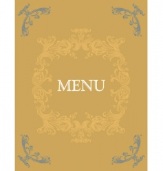 menu14 vector image