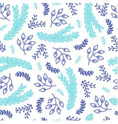 Seamless hygge scandinavian pattern vector