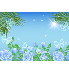 Tropical Island Summer vector image