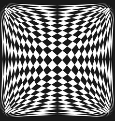 abstract checkered seamless 3d pattern vector image