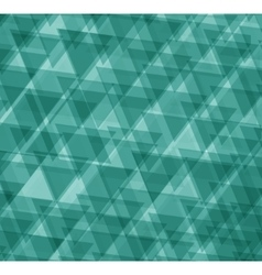 Green abstract geometrical background vector image vector image