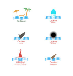 tablets for the beach vector image
