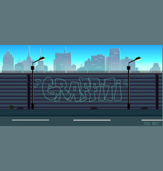 City game background vector
