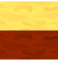 Martian stylized background vector image vector image