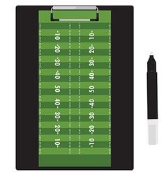 Clipboard soccer vector image vector image