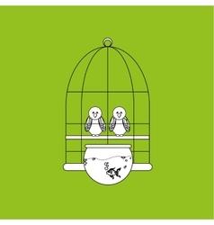 Animal shop design vector