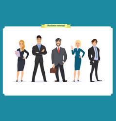 Business people teamwork team vector