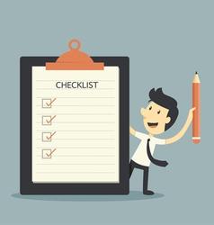 Checklist vector