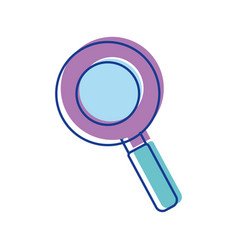 Colo magnifying optical search tool vector