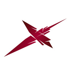 letter x modern vector image